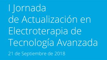 I Jornada de Actualización en Electroterapia de Tecnología Avanzada