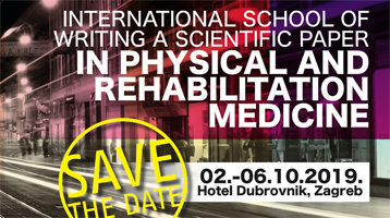 INTERNATIONAL SCHOOL OF WRITING A SCIENTIFIC PAPER IN PHYSICAL AND REHABILITATION MEDICINE
